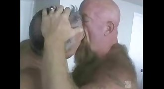 Two Daddy Bears Going at it.