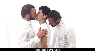 MormonBoyz- Submissive Boy Fucks Two Older Men