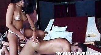 I cant wait for my first anal pegging practice