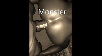 Monster Black Cock Compilation 15 by Copacabana