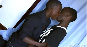 Black Twinks Saka and Afpha Piss and Fuck